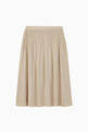 thumbnail of Pleated Lurex Long Skirt     #2
