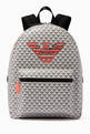 thumbnail of EA Eagle Monogram Backpack in Canvas   #0