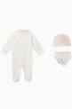 thumbnail of EA Manga Bear Romper, Hat & Bib Set  #1