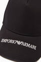 thumbnail of EA Text Baseball Cap in Cotton   #2