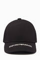 thumbnail of EA Text Baseball Cap in Cotton   #3