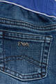thumbnail of EA Logo Waistband Denim Jeans    #3