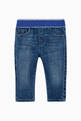 thumbnail of EA Logo Waistband Denim Jeans    #0