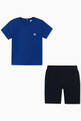 thumbnail of EA Rubber Patch Jersey T-Shirt & Shorts #1