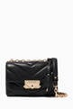 thumbnail of Cece Extra-Small Crossbody Bag in Quilted Leather    #0