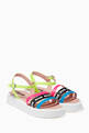 thumbnail of Multicolour Strappy Sandals   #0