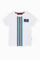thumbnail of Logo Stripe Cotton T-Shirt   #0