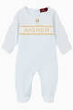 thumbnail of Logo Pima Cotton Jersey Babygrow    #0