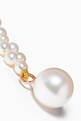 thumbnail of Tressé Pearl Earrings in 14kt Yellow Gold #3