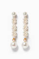 thumbnail of Tressé Pearl Earrings in 14kt Yellow Gold #0