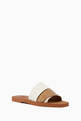 thumbnail of Patchwork Woody Flat Mule Sandals in Leather       #2