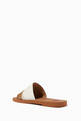 thumbnail of Patchwork Woody Flat Mule Sandals in Leather       #3