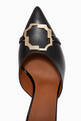 thumbnail of Missy 70 Brooch Mules in Nappa Leather   #4