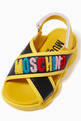 thumbnail of Logo Velcro Cross Sandals in Leather      #3