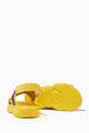 thumbnail of Logo Velcro Cross Sandals in Leather      #1