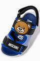 thumbnail of Teddy Bear Sandals in Mesh & Rubber    #3