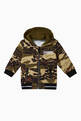thumbnail of Camo Cotton Jersey Hoodie  #0