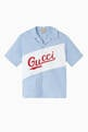 thumbnail of Gucci Script Cotton Bowling Shirt #0