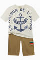 thumbnail of Anchor Print T-shirt in Cotton #1