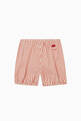 thumbnail of Striped Mushroom Shorts in Cotton #2