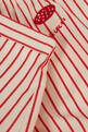 thumbnail of Striped Mushroom Shorts in Cotton #3