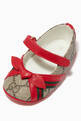 thumbnail of GG Bow Ballet Flats in Canvas   #3