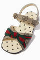 thumbnail of GG Supreme Sandals in Canvas    #3