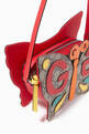 thumbnail of GG Butterfly Handbag in Canvas    #3