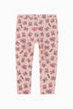 thumbnail of Teddy Bear Heart Print Leggings    #1