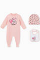 thumbnail of Teddy Bear Heart Pyjama Gift Set, Set of 3     #0