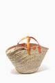 thumbnail of Kendra Coffa Bag in Woven Straw and Leather #2