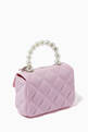 thumbnail of Quilted Pearl Handbag   #2
