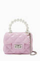 thumbnail of Quilted Pearl Handbag   #0