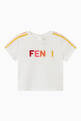 thumbnail of Embroidered Logo T-shirt in Cotton   #0