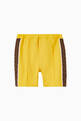 thumbnail of FF Logo Trim Cotton Shorts #0
