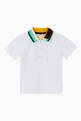 thumbnail of Logo Stripe Polo T-shirt in Cotton    #0