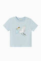 thumbnail of Stork Print Cotton T-shirt   #0