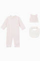thumbnail of Ribbed Romper, Set of 3    #0
