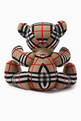 thumbnail of Thomas Bear in Check Merino Wool    #1