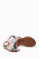 thumbnail of Sandals with Ankle Strap in Camellia Nappa   #1