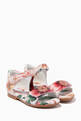 thumbnail of Sandals with Ankle Strap in Camellia Nappa   #0