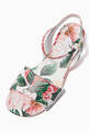 thumbnail of Sandals with Ankle Strap in Camellia Nappa   #3