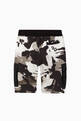 thumbnail of Camouflage Cotton Jogging Shorts     #2