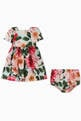 thumbnail of Camellia Cotton Poplin Dress with Bloomers #1