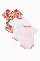 thumbnail of Camellia Cotton Babygrow, Set of 3   #1