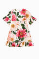 thumbnail of Camellia Cotton Poplin Dress with Bloomers  #0