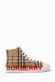 thumbnail of Logo High-top Sneakers in Vintage Check Cotton   #2