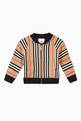 thumbnail of Icon Stripe Cotton Track Top    #0