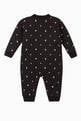 thumbnail of Star and Monogram Motif Cotton Jumpsuit   #1