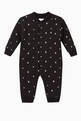 thumbnail of Star and Monogram Motif Cotton Jumpsuit   #0